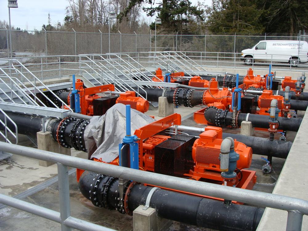 Elwah Temporary Diversion Pumping Facility - Port Angeles, WA