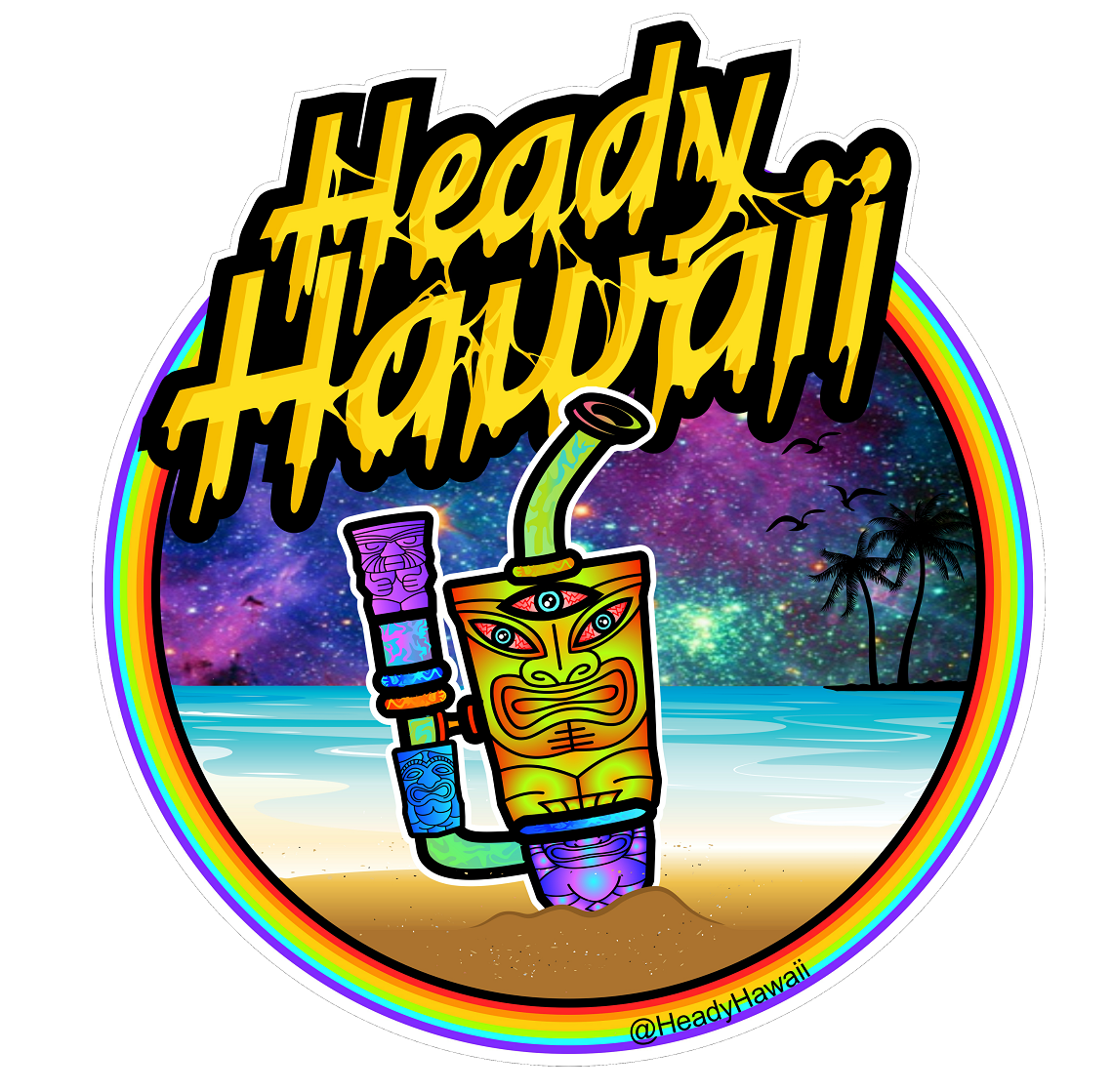 Heady Hawaii - Online Glass Gallery