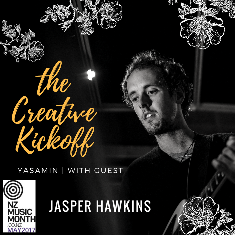Jasper Hawkins The Creative Kickoff Podcast