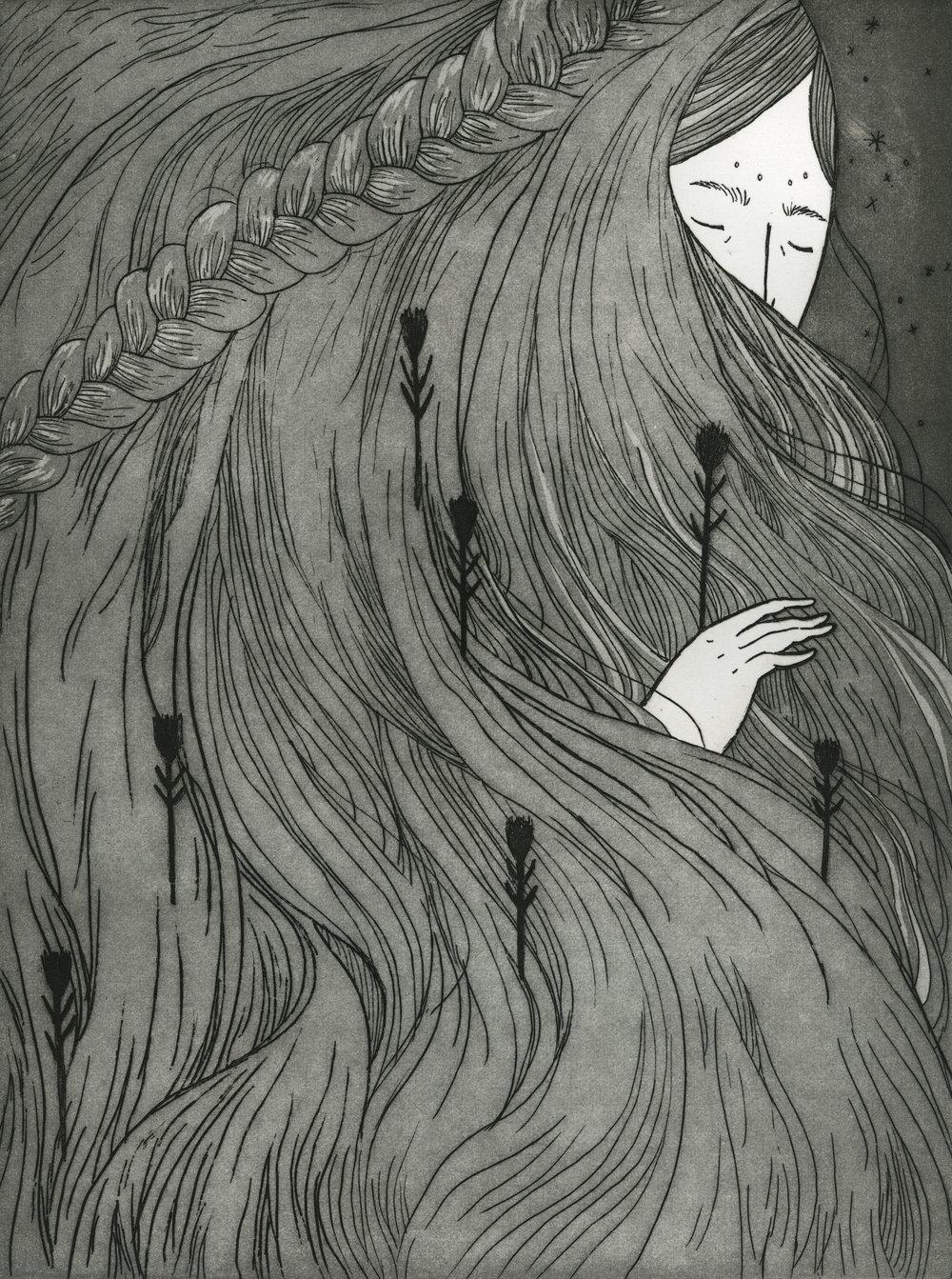 Intaglio drawing