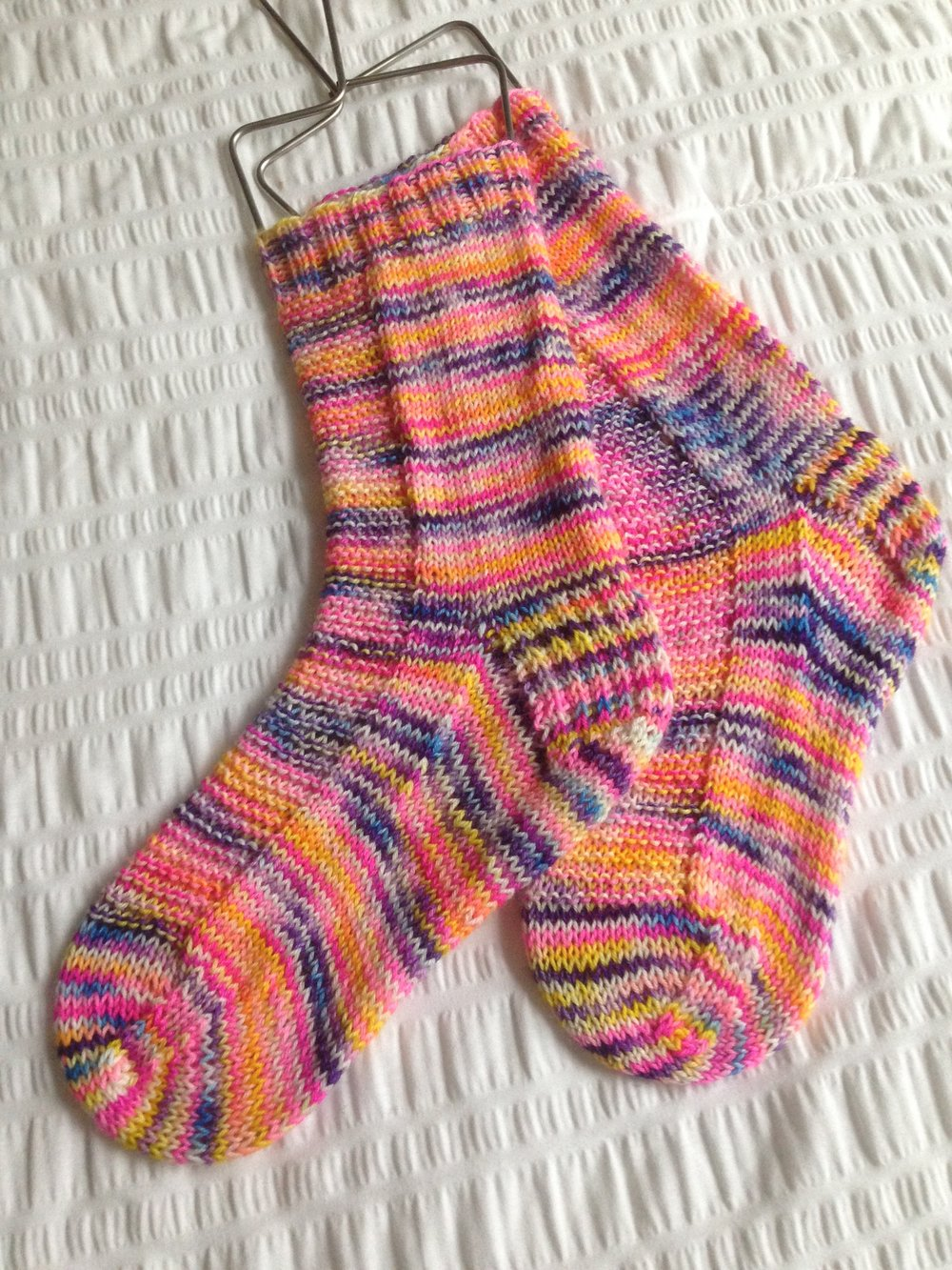 Rye Socks Colorway - Rainbow Rocks
