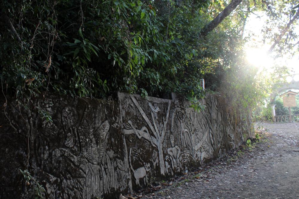 Hiking Donde Miro Trail, Jaco, Costa Rica.