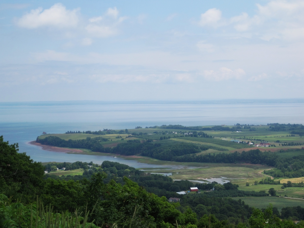Blomidon Look-off in Nova Scotia's Annapolis Valley.