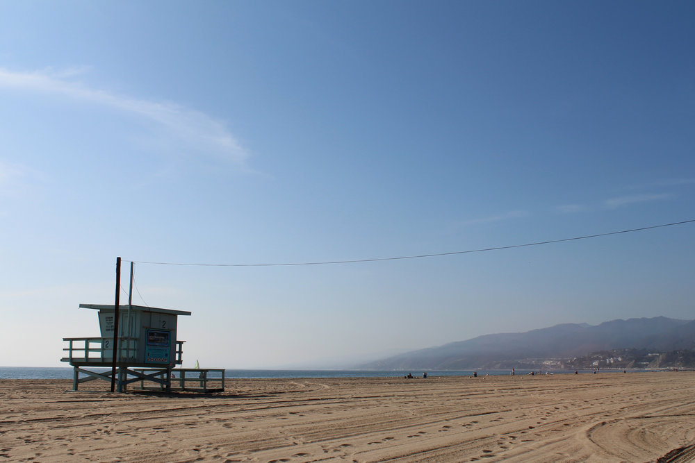 Santa Monica Beach - does this remind anyone else of The OC?!