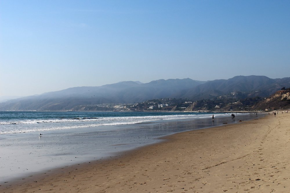 You can easily spend a whole day at Santa Monica Beach.
