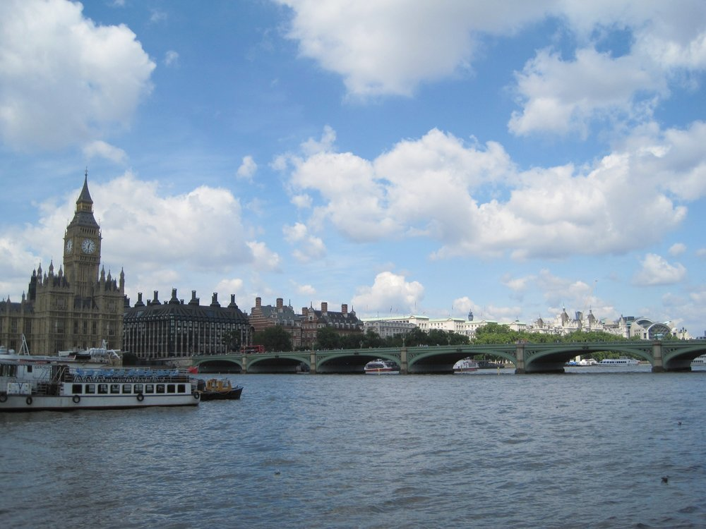 The River Thames, London.