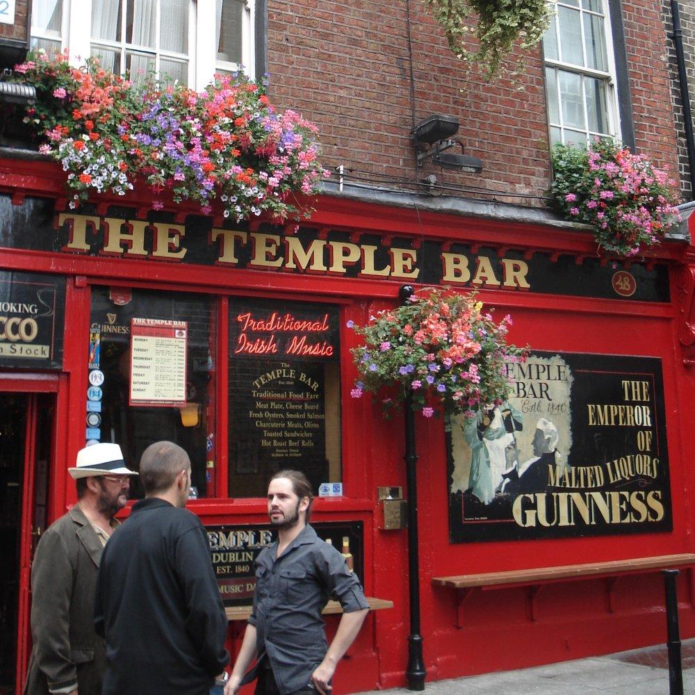 The Temple Bar, Dublin, Ireland.
