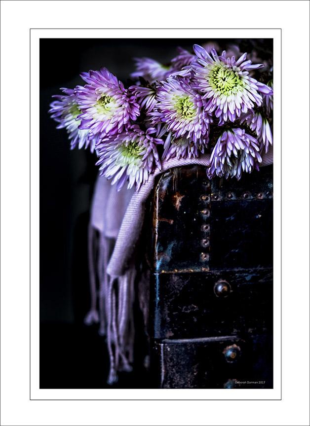 Deborah Dorman Scarf & Flower 4