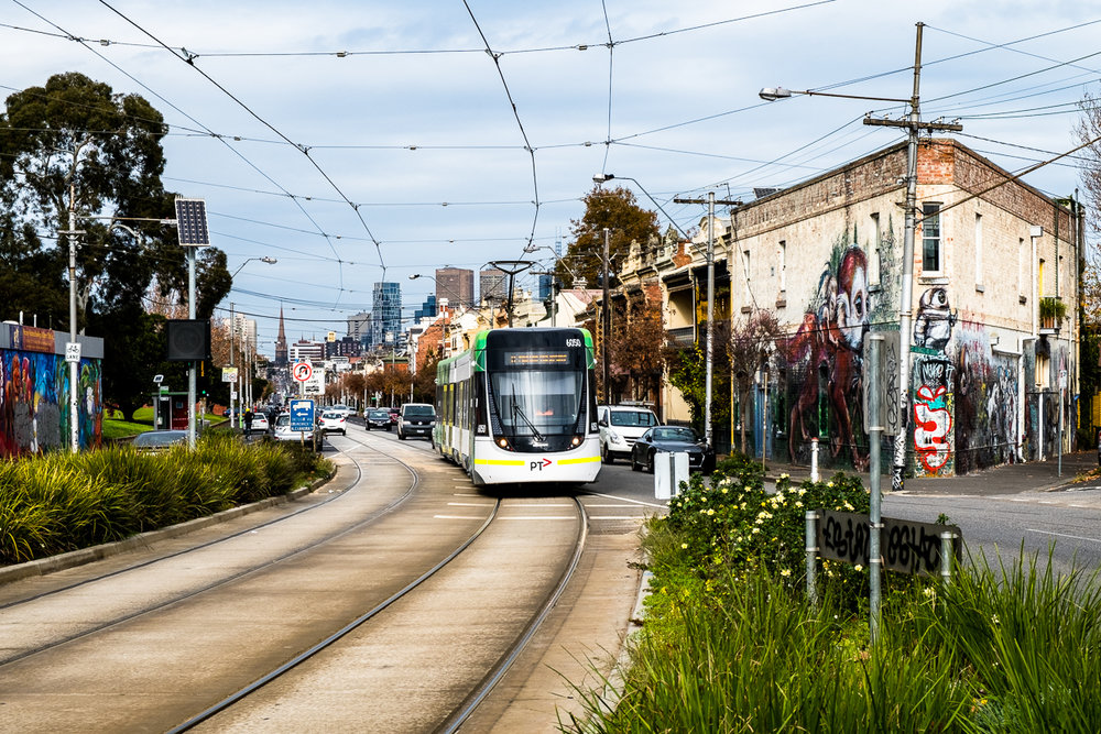 #11 Tram to Fitzroy North
