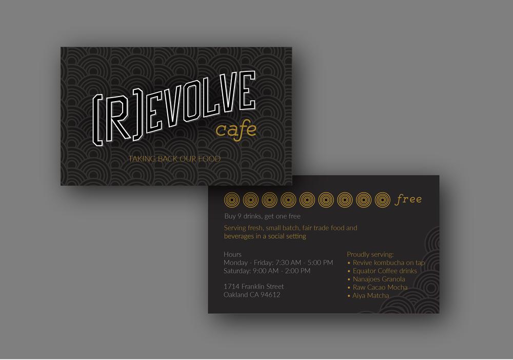 R)evolve Cafe Brand Identity — Nikki Schneider | Portfolio