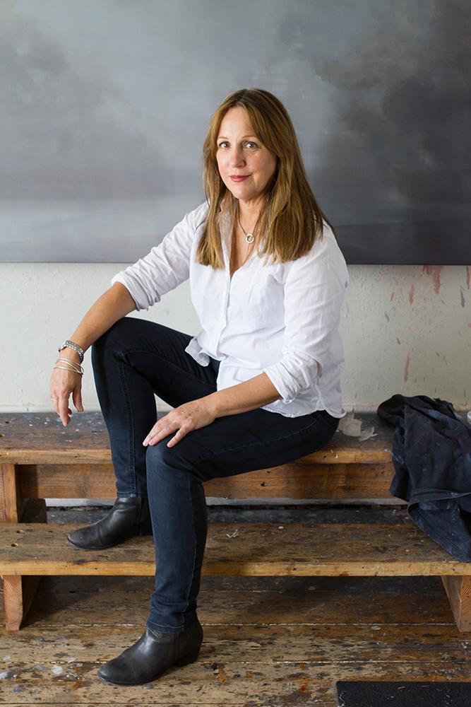 Portrait of artist Adriane Strampp  www.adriannestrampp.com