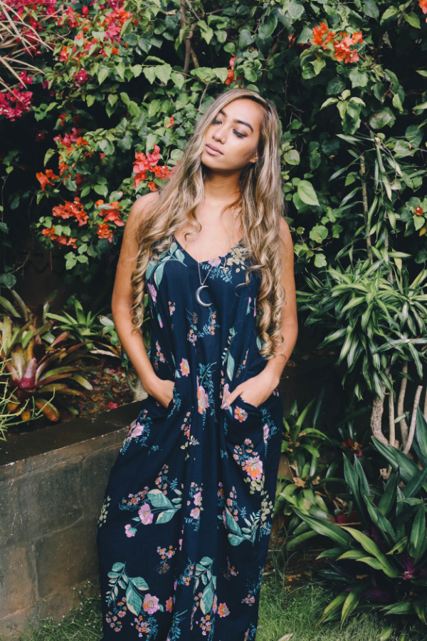 Attending a Summer wedding? How gorgeous is our midnight floral maxi dress?! Maxi is $65 and necklace is $16 for a total of $81.