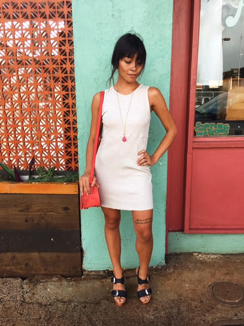 """Ladies, if your petite, you can definitely pull off anything mini, or a shorter cut dress. This dress we have several different colors and the sizing fits smaller than """"normal.""""   TIP: When you visit your next shop (we hope it'll be us!) don't be afraid to ask the associate for their smaller sizes, or styles that run smaller."""