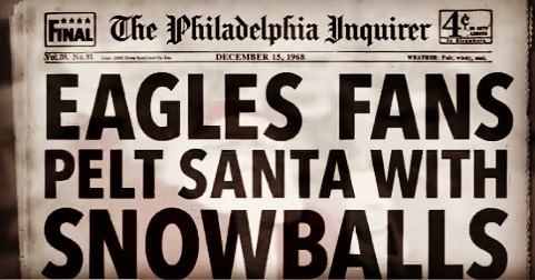 Merry Christmas and Happy Holidays everyone! Hope you're all having a better time than Santa circa '68 at @philadelphiaeagles game! Enjoy your time with the family and we look forward to seeing you next year at @passyunkuk #merrychristmas 🎄