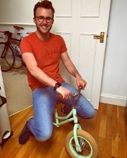 James's new ride...