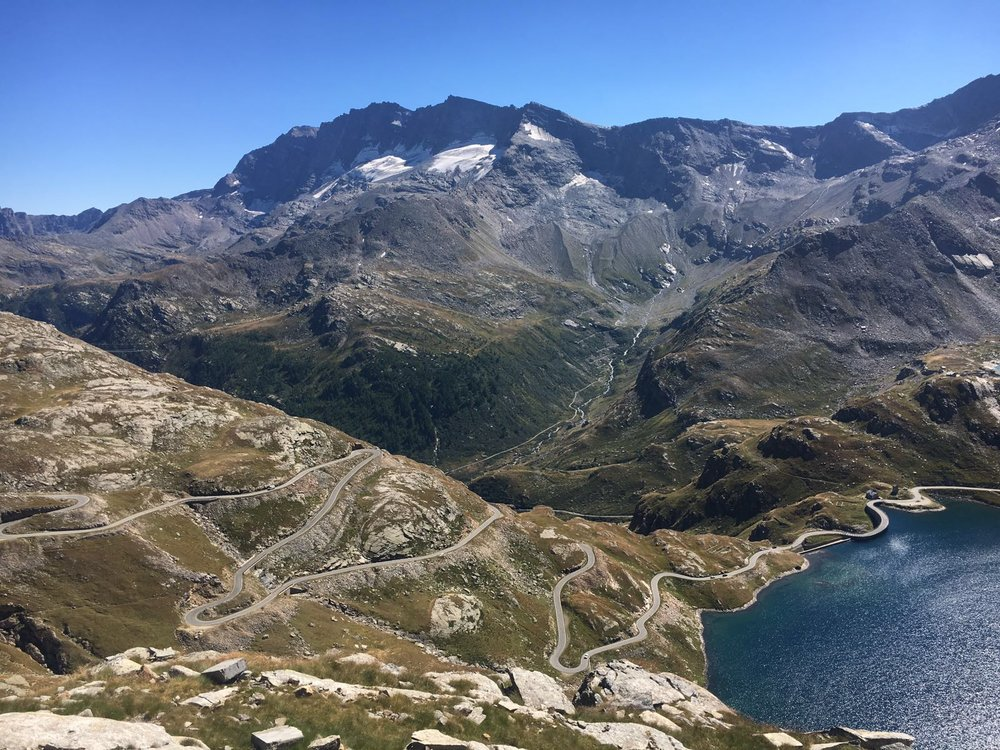 A ride up the Colle Del Nivolet reminds you of how awesome the world is