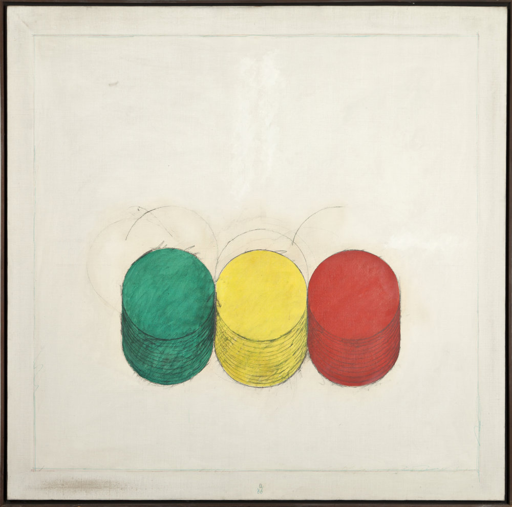 Rodolfo Aricò_Cilindri_Olio su tela_1966_150 x 150 cm.jpg