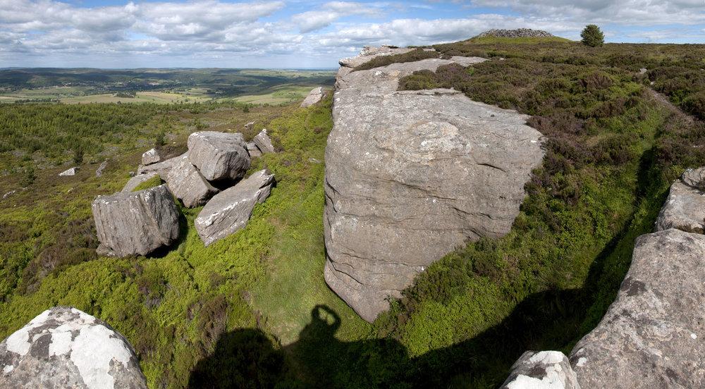 Simonside Hills Northumberland