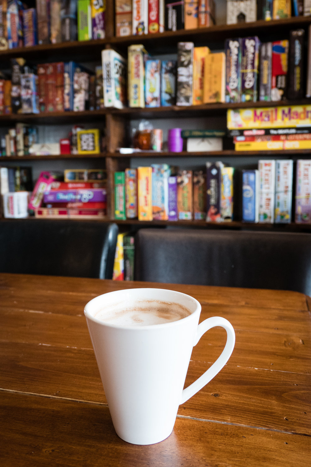 Hot Chocolate at Brew Wizards Board Game Cafe, Oshawa, Ontario