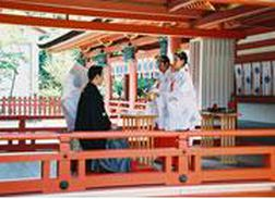 津島神社、婚礼
