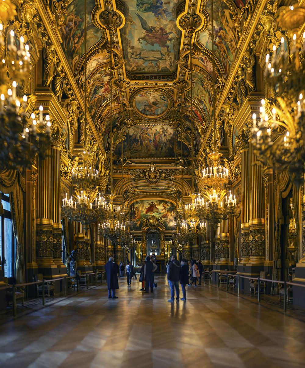 フランス:「パリ・オペラ座ガルニエ宮/Palais Garnier Opera House」