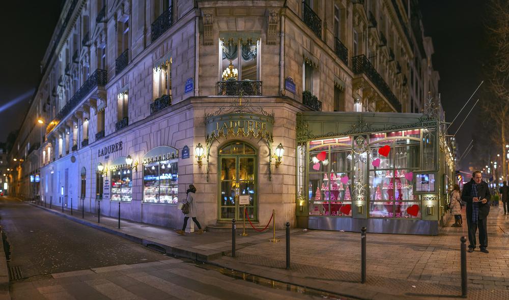 フランス:「ラデュレ/LADUREE」