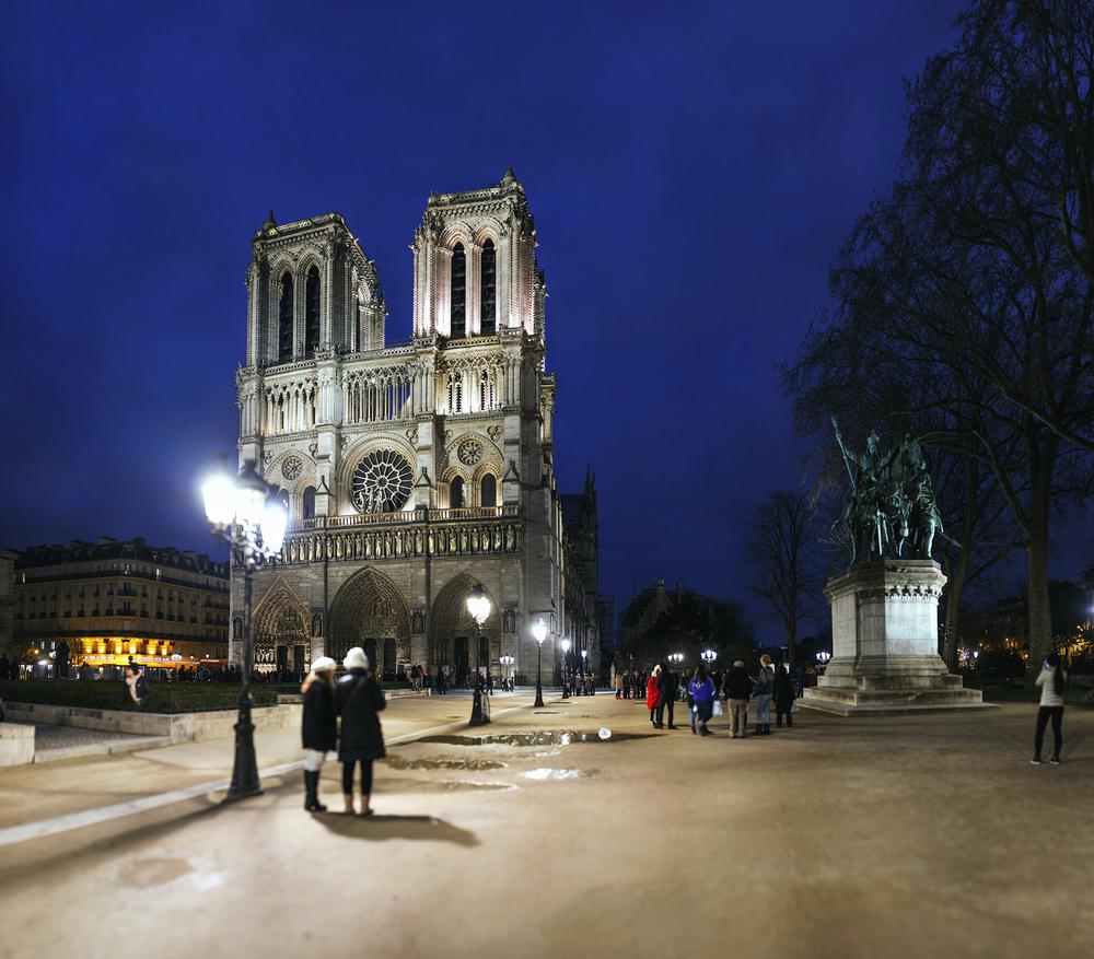 フランス:「ノートルダム大聖堂/Notre-Dame Cathedral」