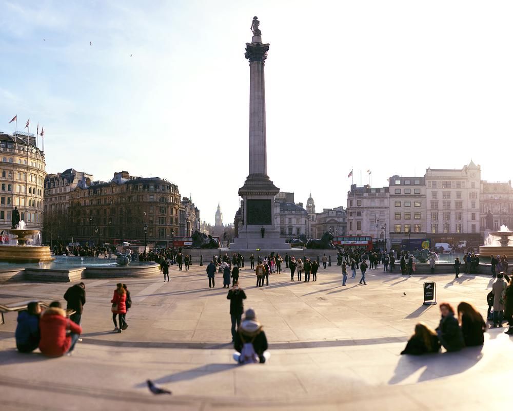 イギリス:「トラファルガー広場/Trafalgar Square」