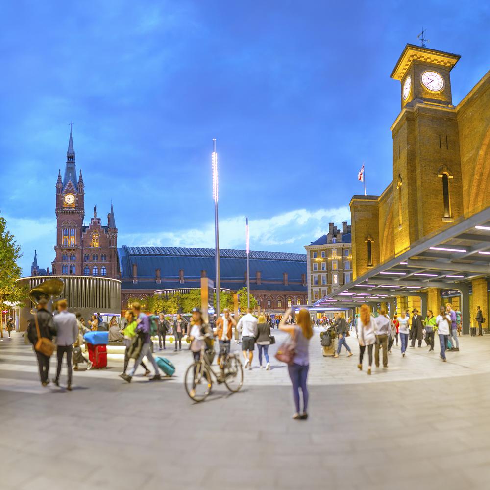 イギリス:「キングス・クロス・ステーション/Kings Cross Station」