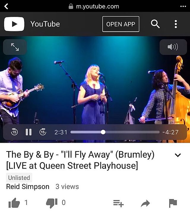 "full length live version of ""I'll Fly Away"" from our recent #Charleston show up today! check it out at the link in our bio. ty @hear.and.there.photo for sharing with us 🙌🏽 . . . #jazz #americana #trio #traditional #improvisation"