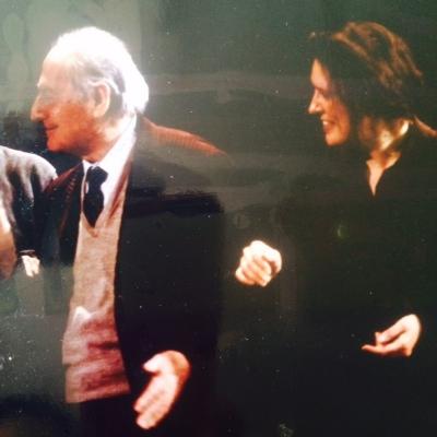 Gian Carlo Menotti and Joanna Porackova. THE CONSUL, Washington National Opera