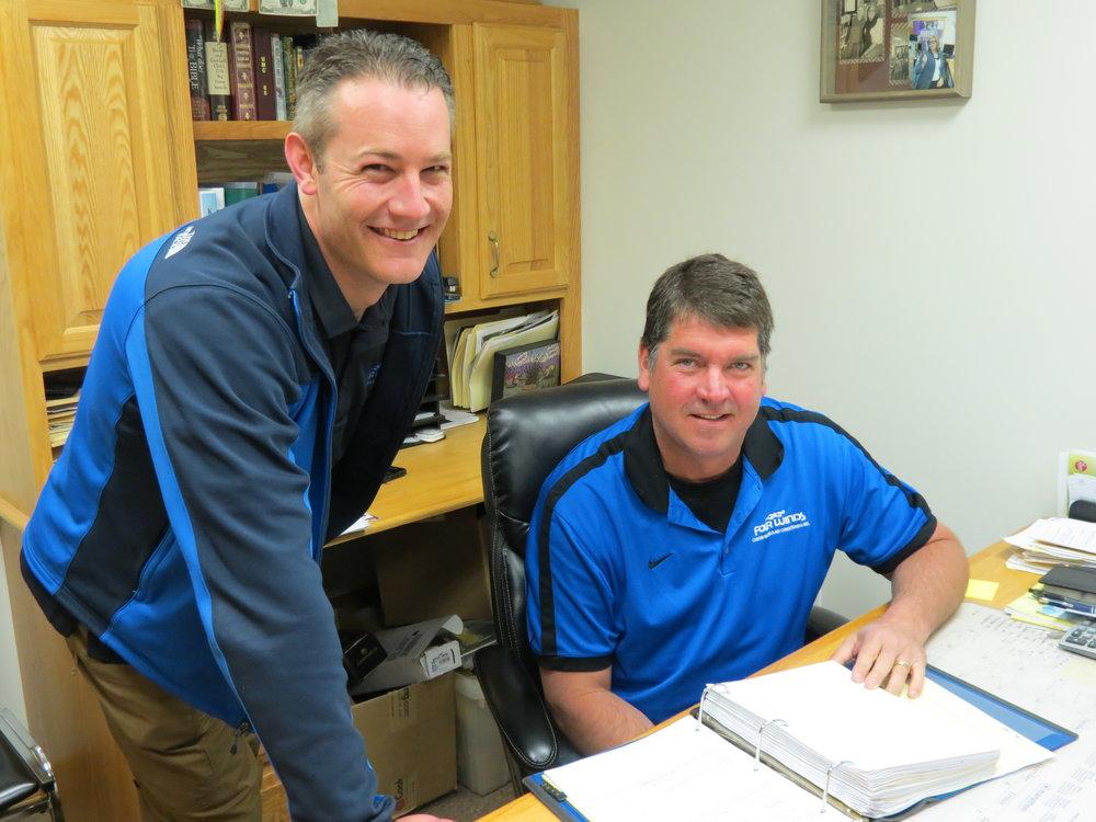 Scott Swinehart, GM & Todd Seiler, President