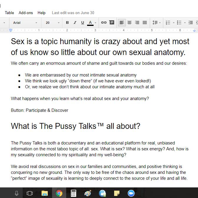 ThePussyTalks.com