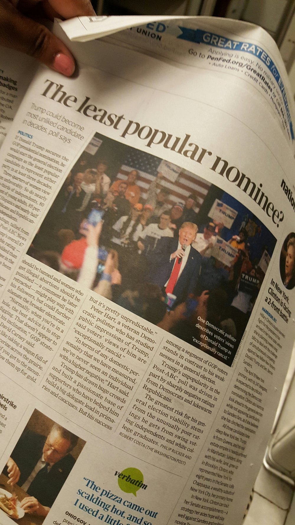 Washington Post  paper (4/1/2016)