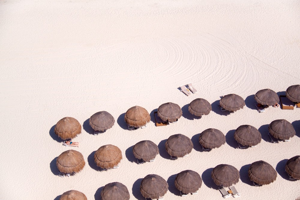 Cancun Tiki umbrellas, Asia
