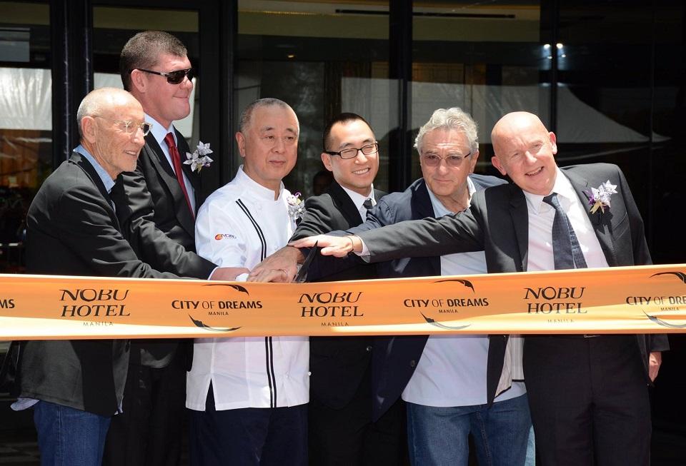 The Nobu Hotel opening - Manila, Philippines,May 2015