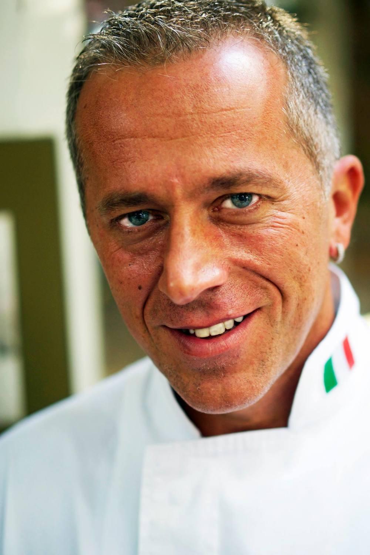 Vincenzo Zanni, chef and owner of Trattoria