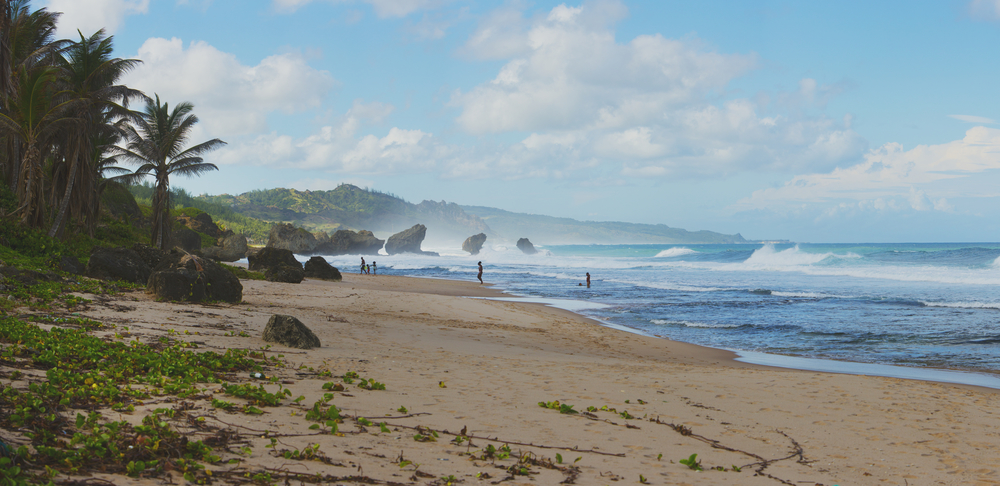Bathsheba: the prime surfing country, where you feel you've reached the end of the world