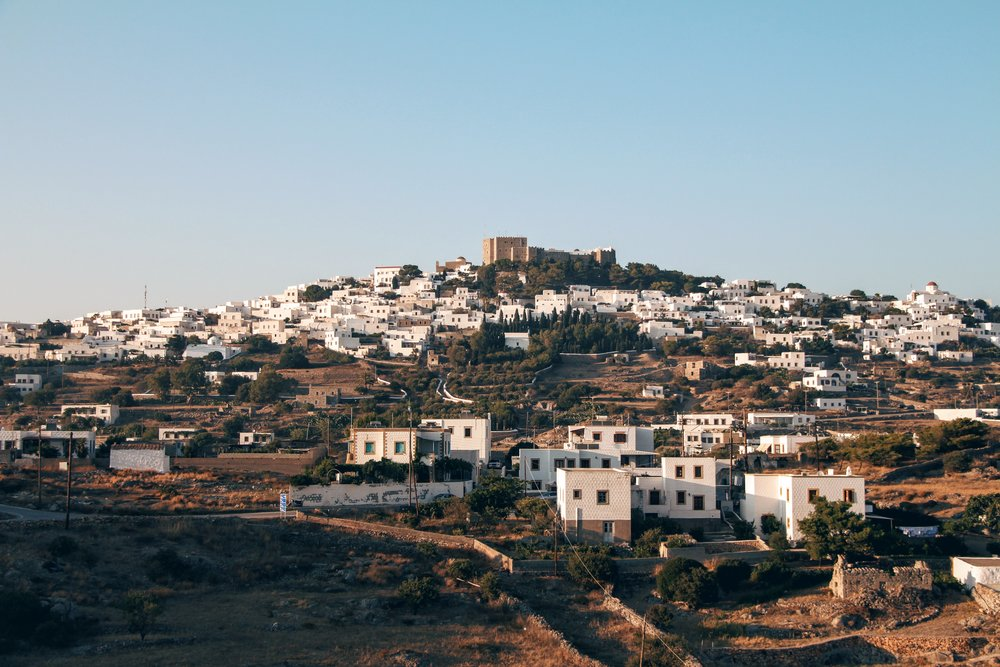 Panoramic view of Chora