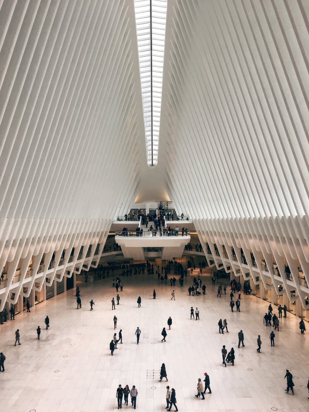 The Oculus at World Trade Center by Santiago Calatrava
