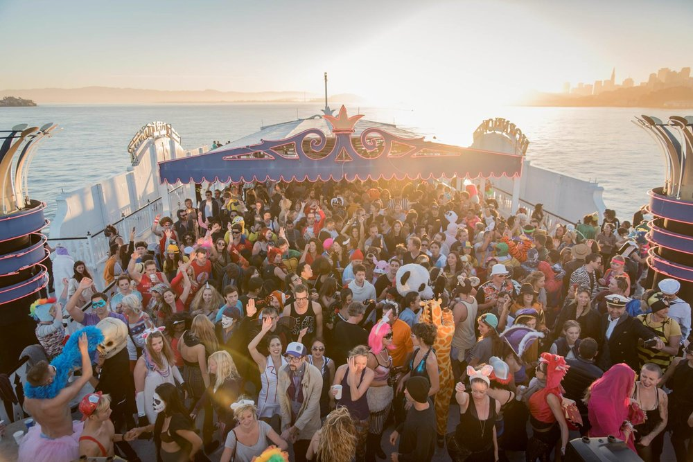 Daybreaker Boat Party in San Francisco