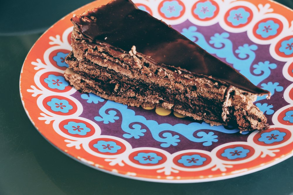 The best chocolate cake of the world by Carlos Braz Lopes