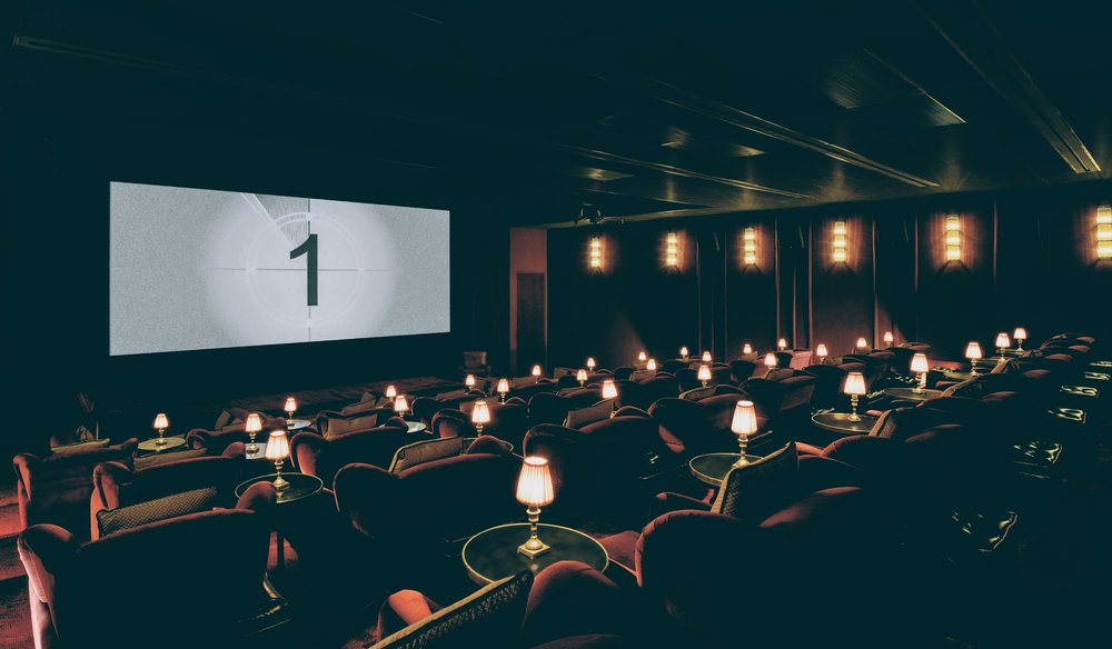Screening room at Soho House Istanbul