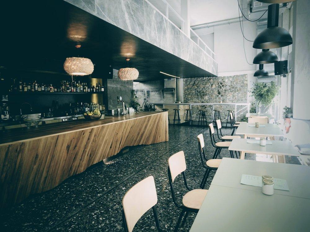 The long bar at Kinono