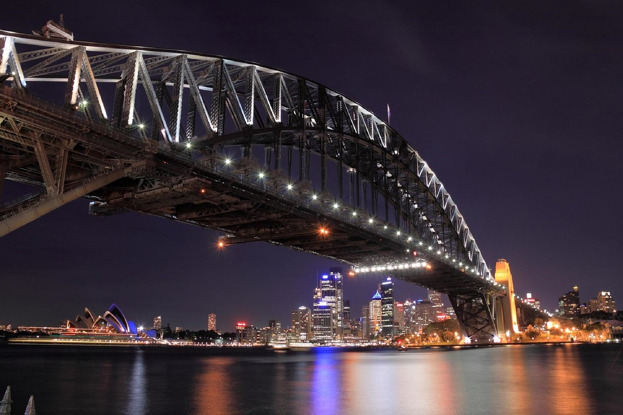 Sydney Harbour Bridge, Image by skeeze
