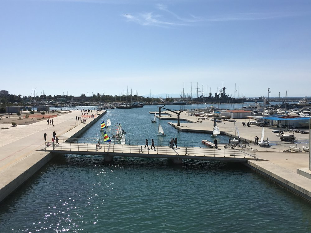 The marina space has been recently recreated too making it more accessible to pedestrians
