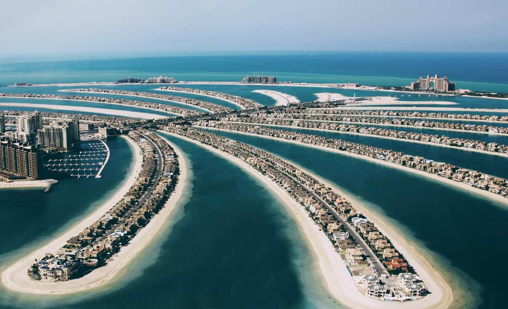 Palm Jumeirah and Atlantis Hotel