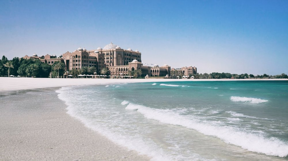 Emirates Palace Kempinski in Abu Dhabi