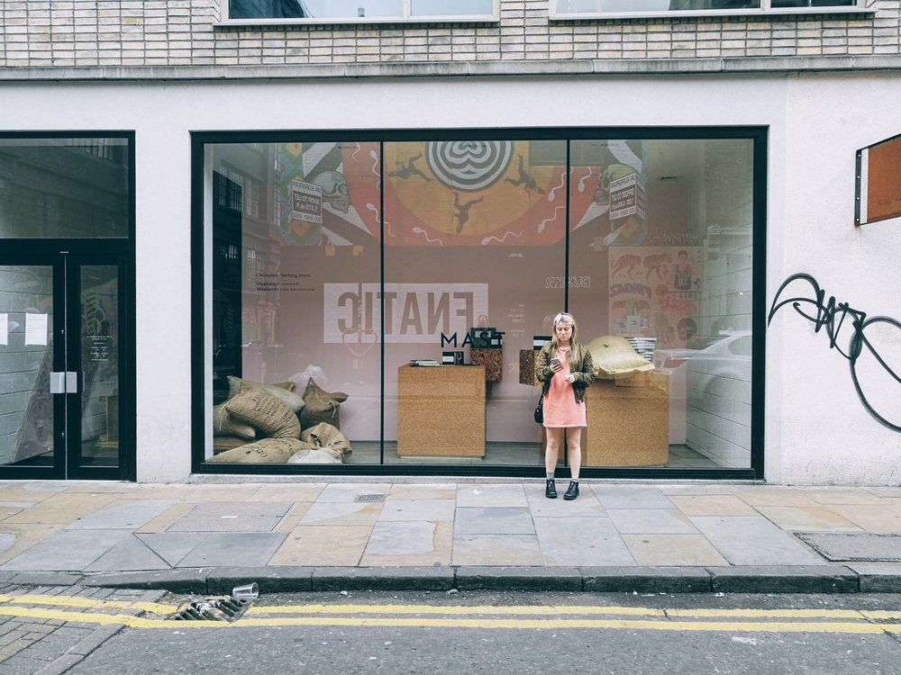 Outside Mast Brothers London
