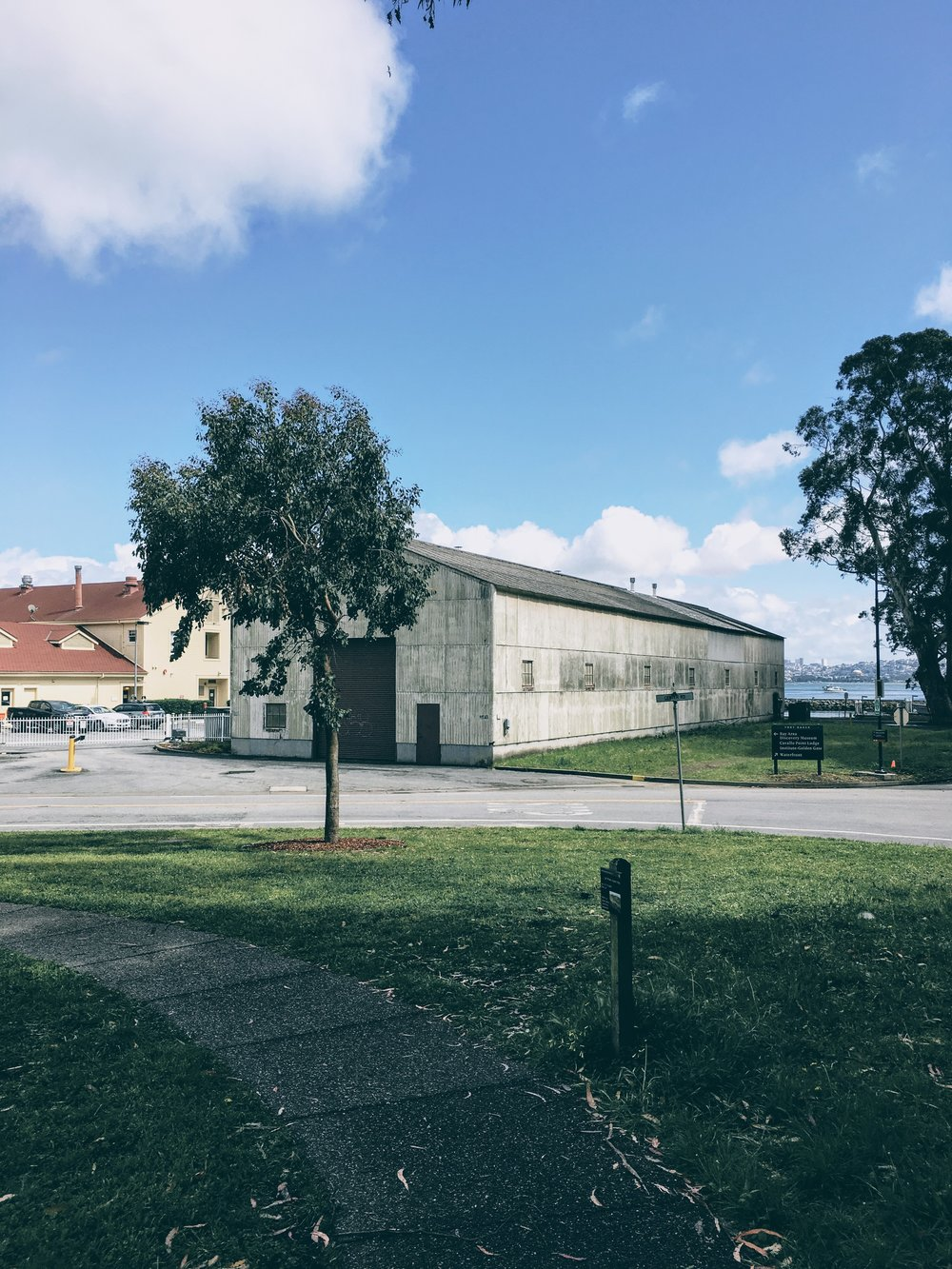 Old warehouse at Cavallo point